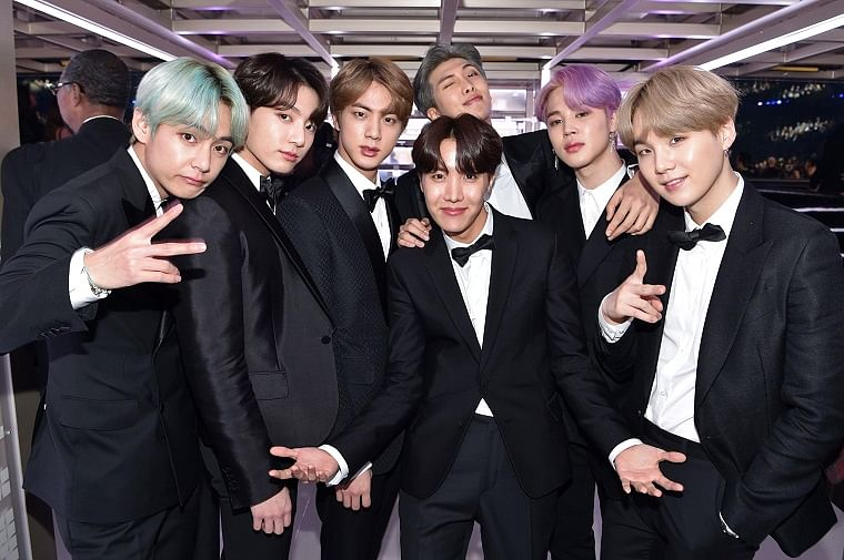 K-pop band BTS is the first South Korean music group to win a Grammy nomination
