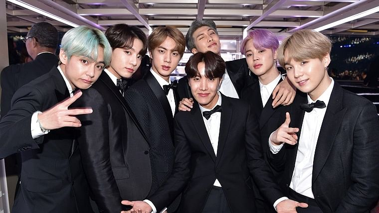 BTS end 2020 with a digital gig, supported by Steve Aoki, Halsey