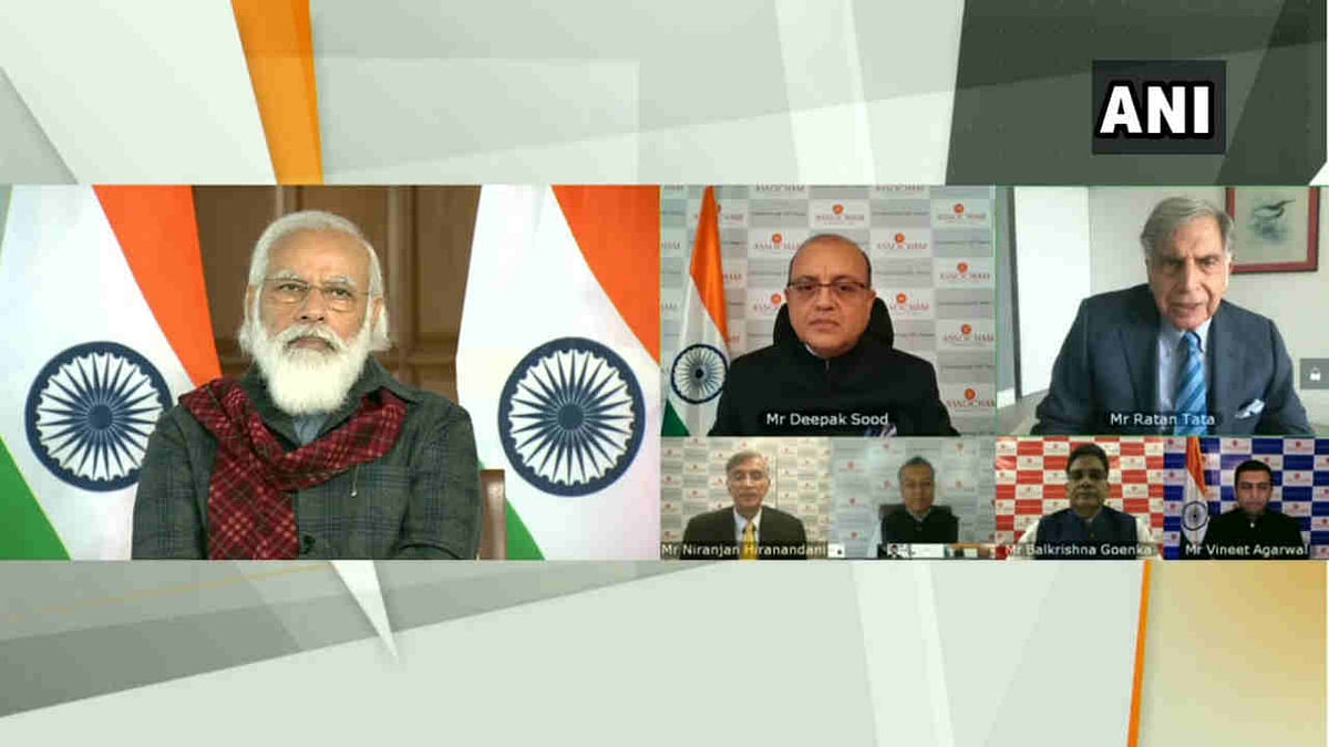 'World has confidence in our economy': PM Modi says India received record amount of FDI during COVID pandemic