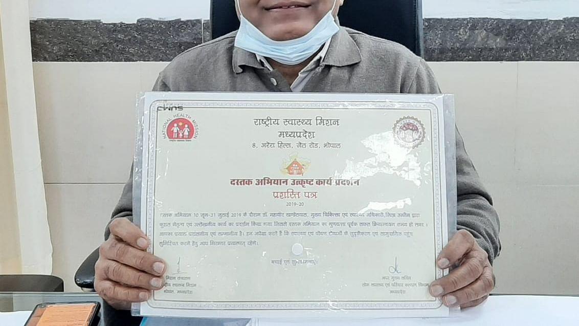 CMHO shows letter of citation