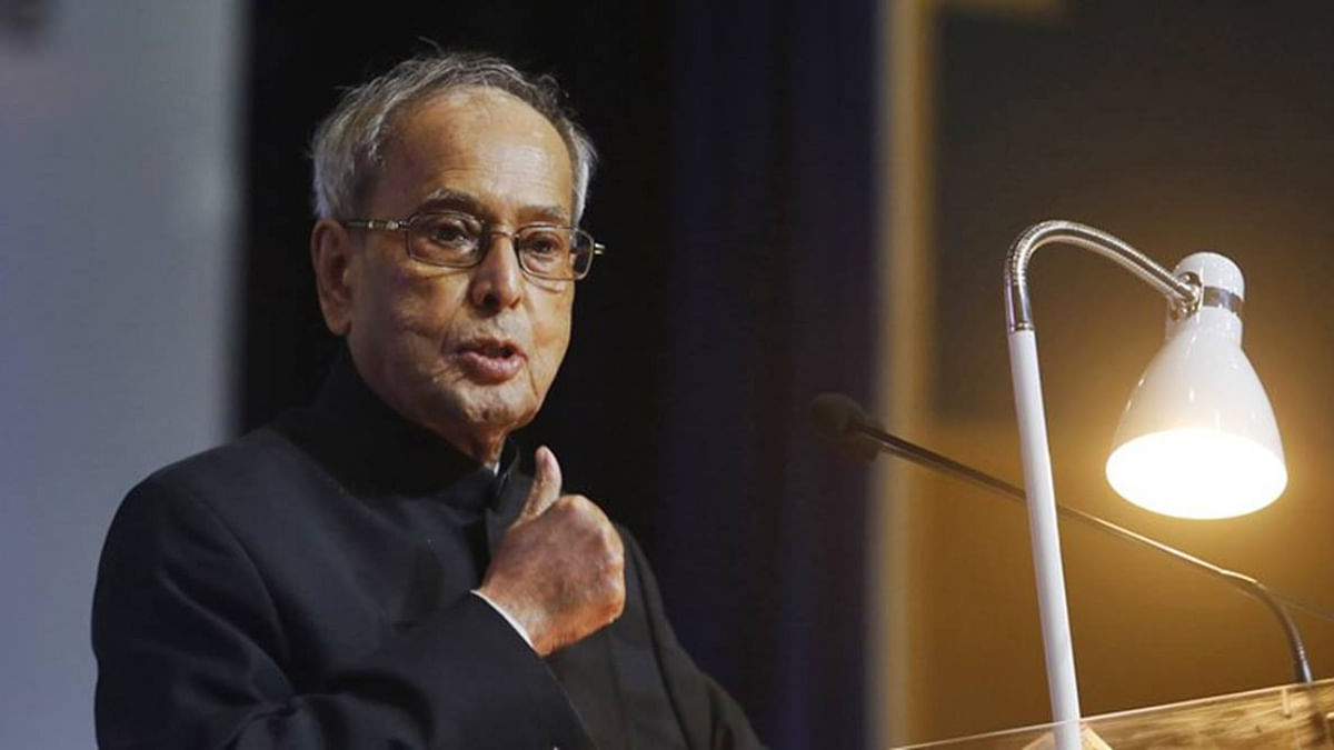 Ex-President of India Pranab Mukherjee