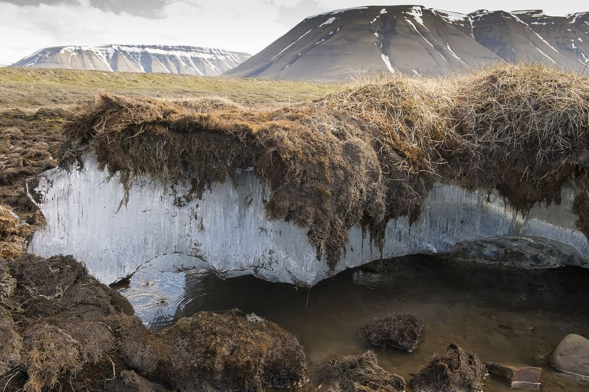 Frozen Arctic soils set to release vast amounts of greenhouse gases
