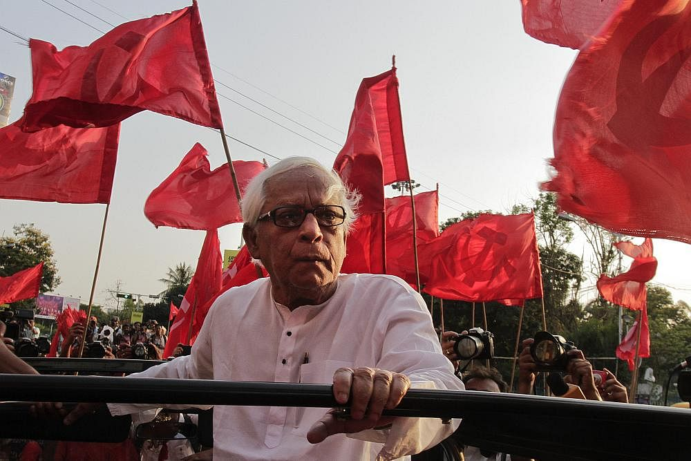 Veteran CPI(M) leader and ex-West Bengal CM Buddhadeb Bhattacharya