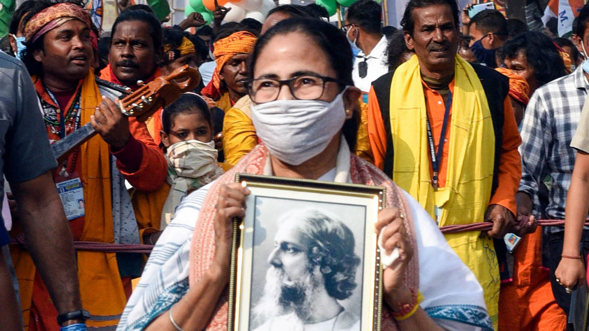 'In Tagore's land, hate politics can never rout secularism': Mamata hits back at BJP from Bolpur