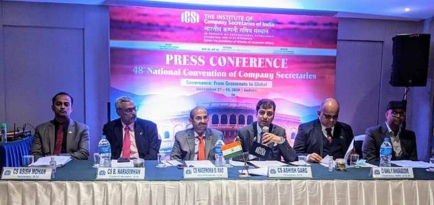 Institute of Company Secretaries of India organises 48th National Convention of Company Secretaries