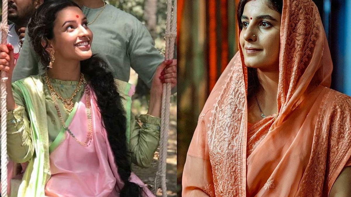 L- Tripti Dimri, R- Isha Talwar