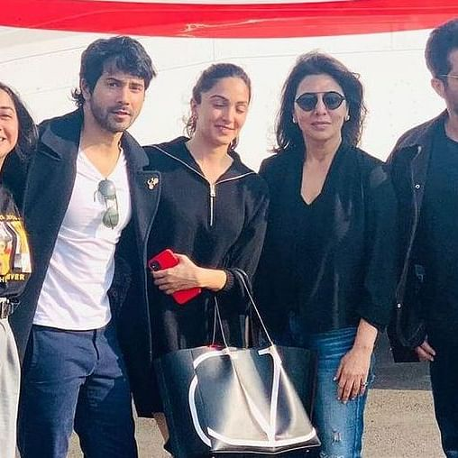 'Jug Jugg Jeeyo' stars Neetu Kapoor, and Varun Dhawan test positive for COVID-19