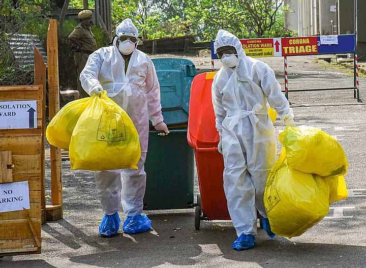 Bio-med and COVID 'wasteline' reduces as corona cases drop in Maharashtra