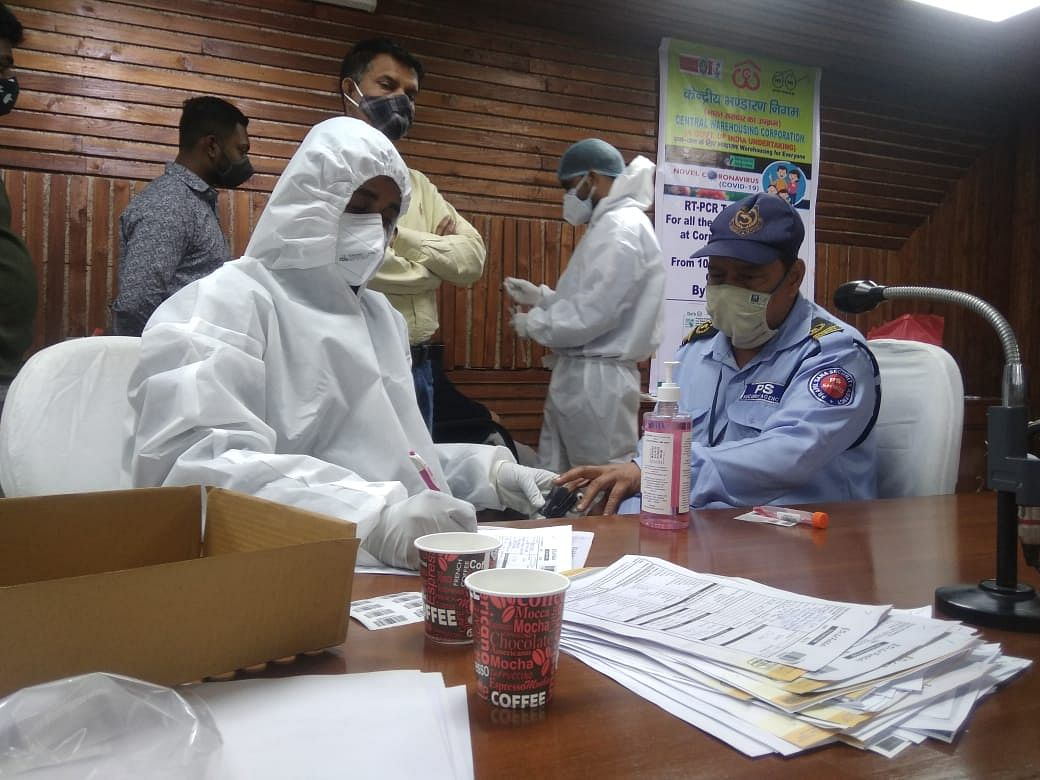 Central Warehousing Corporation organises one day medical camp for its entire staff