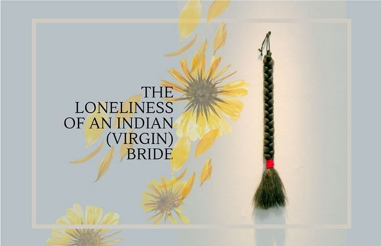 loneliness of Indian Bride