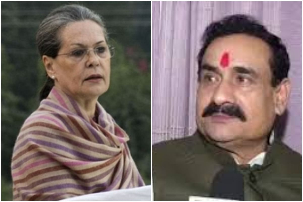 MP HM Narottam Mishra attacks Sonia Gandhi, says which mother after 'Kaikeyi' conspired to secure the king's throne for her son