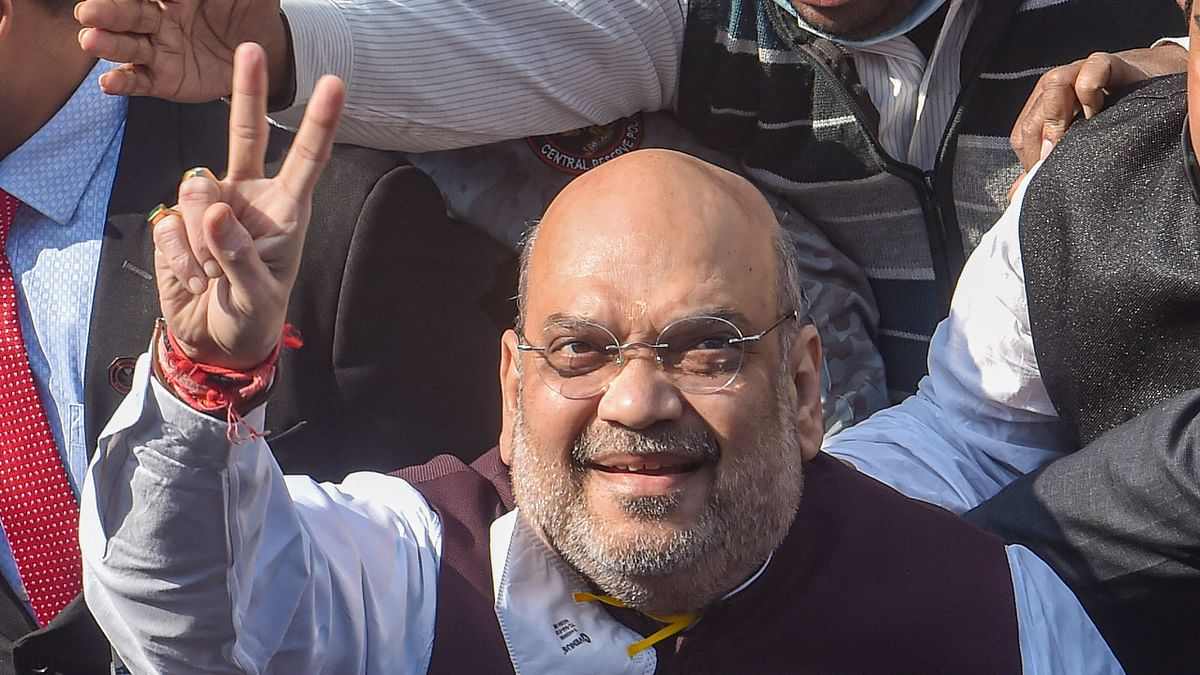 'Exemplary services': Amit Shah lauds Delhi Police for work amid COVID-19 pandemic