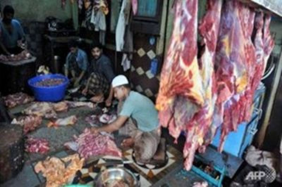 Slaughterhouse raided in Thane; 2,000 kg meat seized