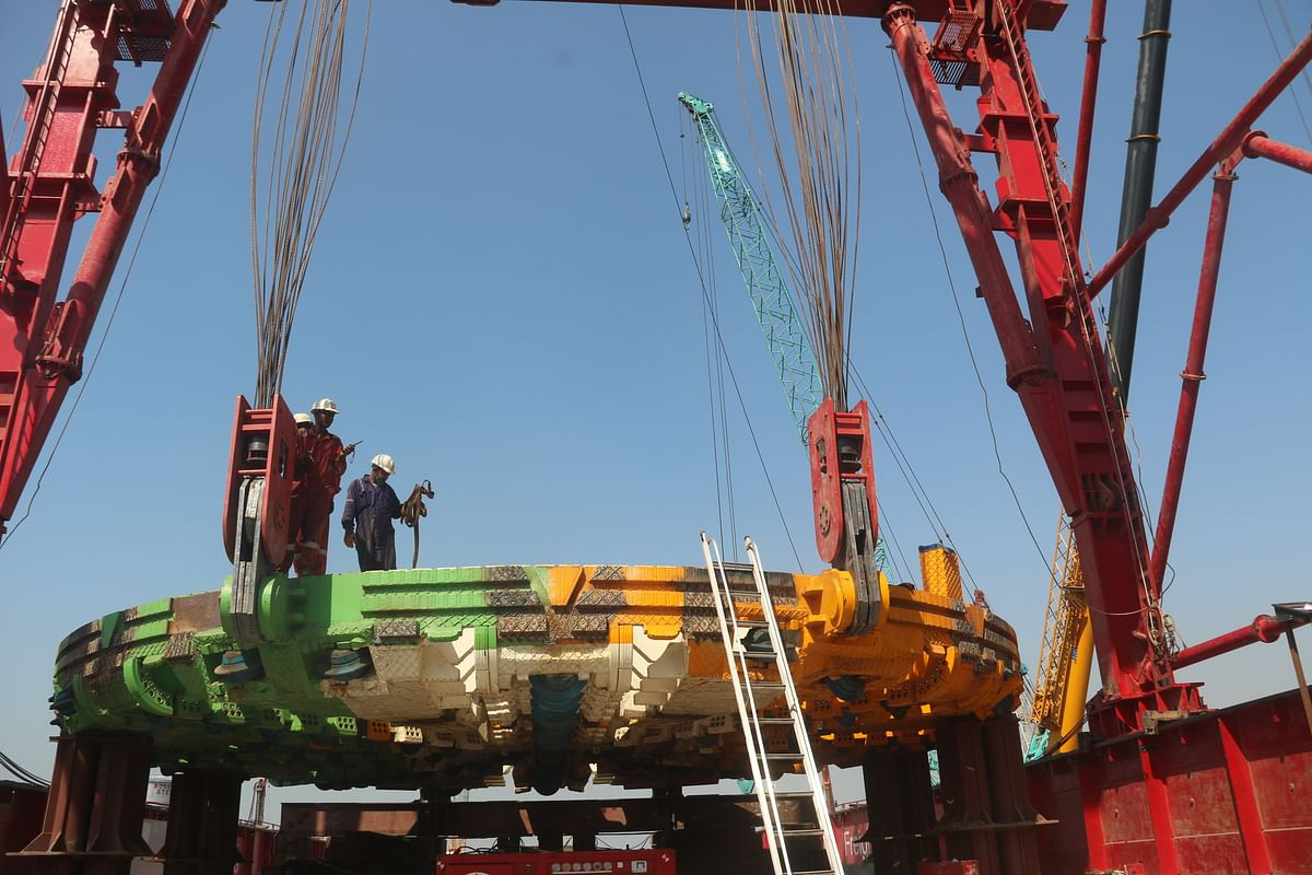 BMC unveils country's biggest TBM for Coastal Road Project