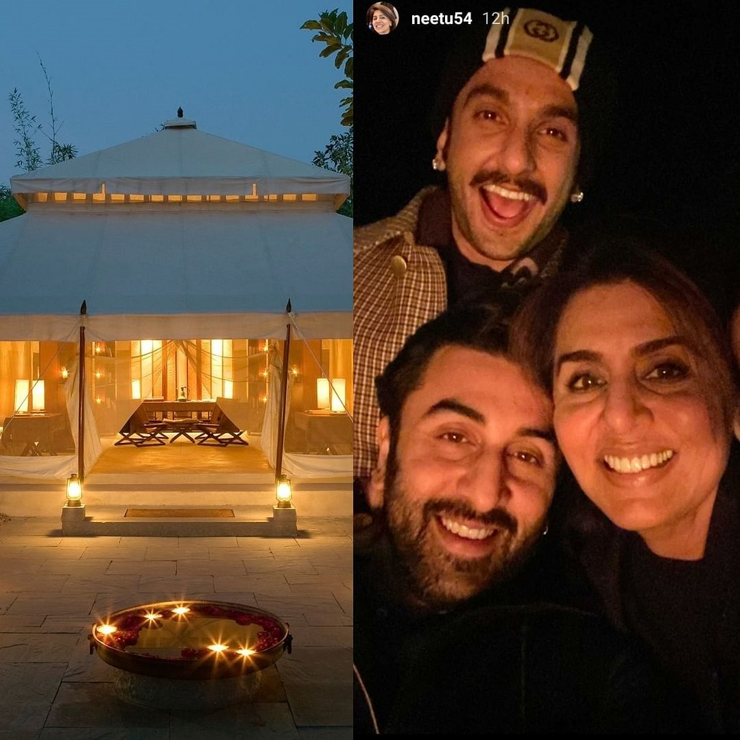 How much does it cost per night to celebrate New Year like Deepika-Ranveer, Alia-Ranbir at Aman-i-Khas in Rajasthan?