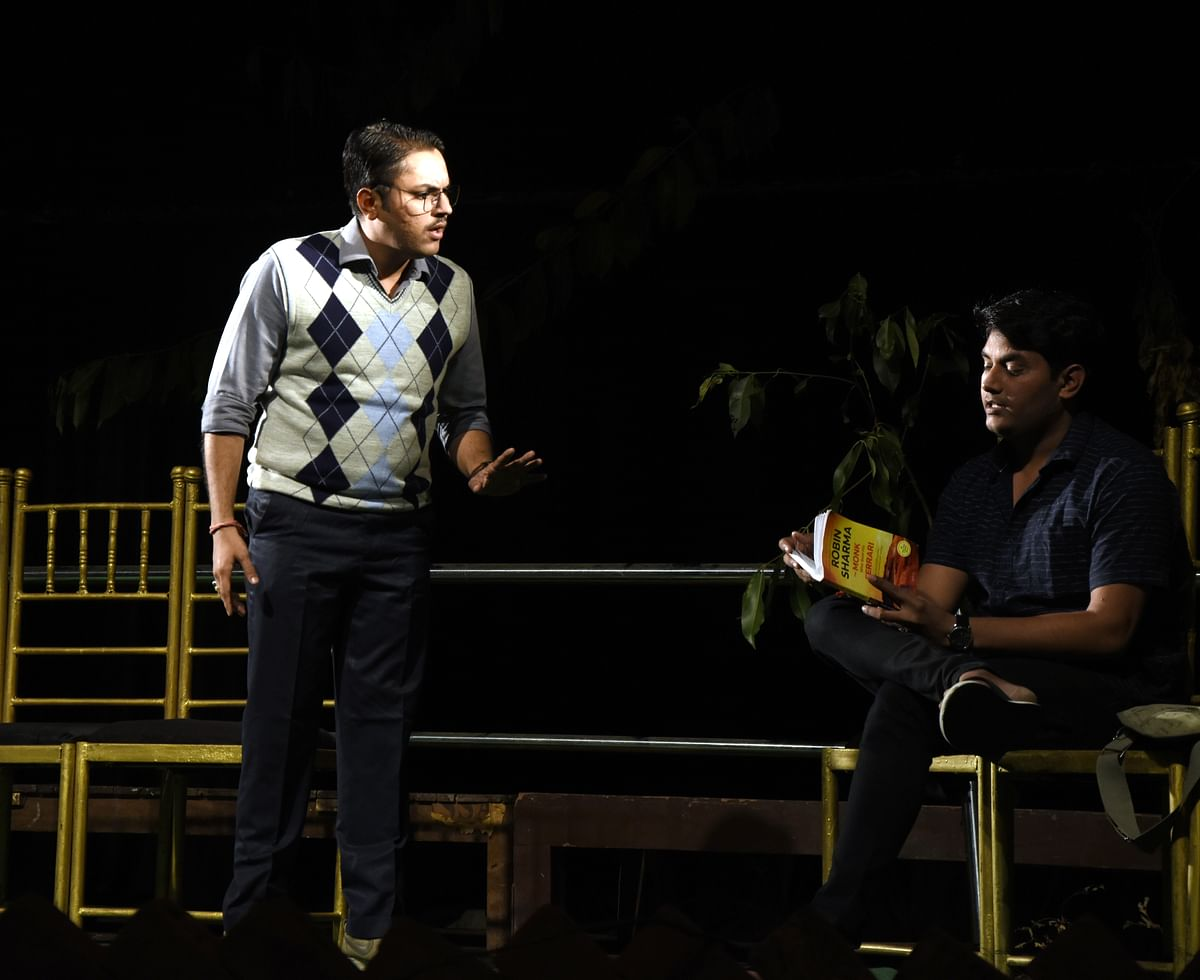 Play 'Park' staged at Tribal Museum in Bhopal under Gamak-3