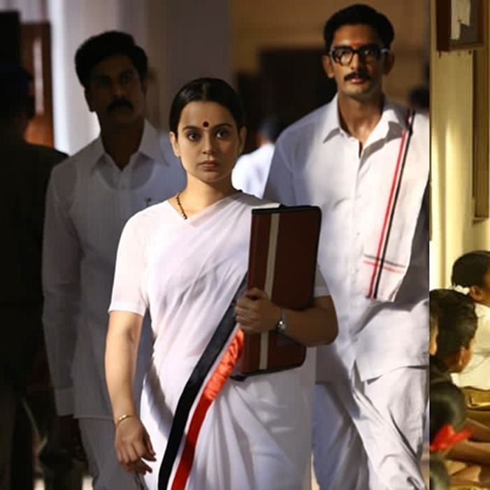 Kangana Ranaut shares unseen stills from 'Thalaivi' on Jayalalithaa's death anniversary