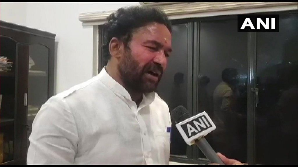 GHMC poll results indicate BJP has people's blessings for 2023 elections in Telangana: MoS G Kishan Reddy