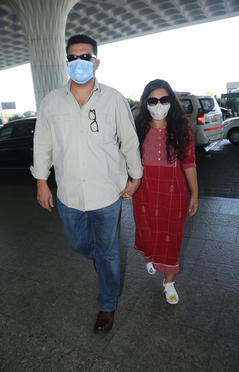 Vidya Balan and her husband Siddharth Roy Kapoor