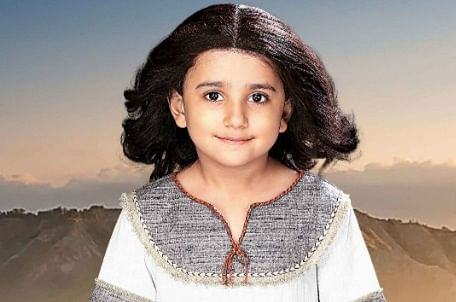 Still from Yeshu where child actor Vivaan Shah features as baby Jesus