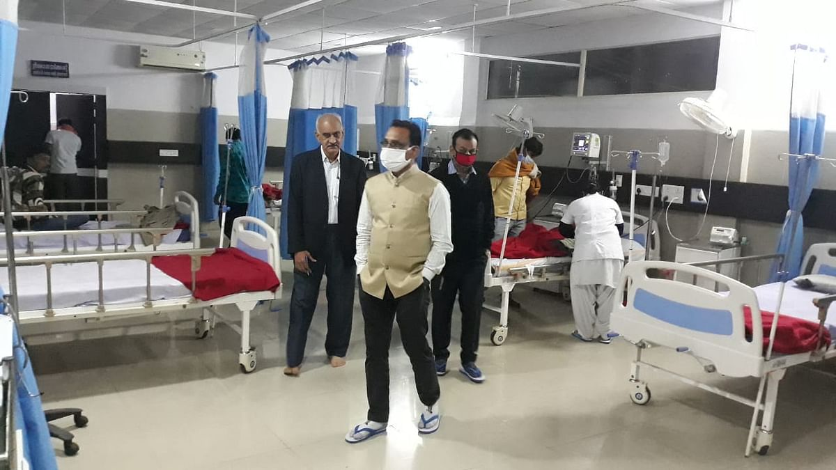District hospital inspection in Barwani by collector