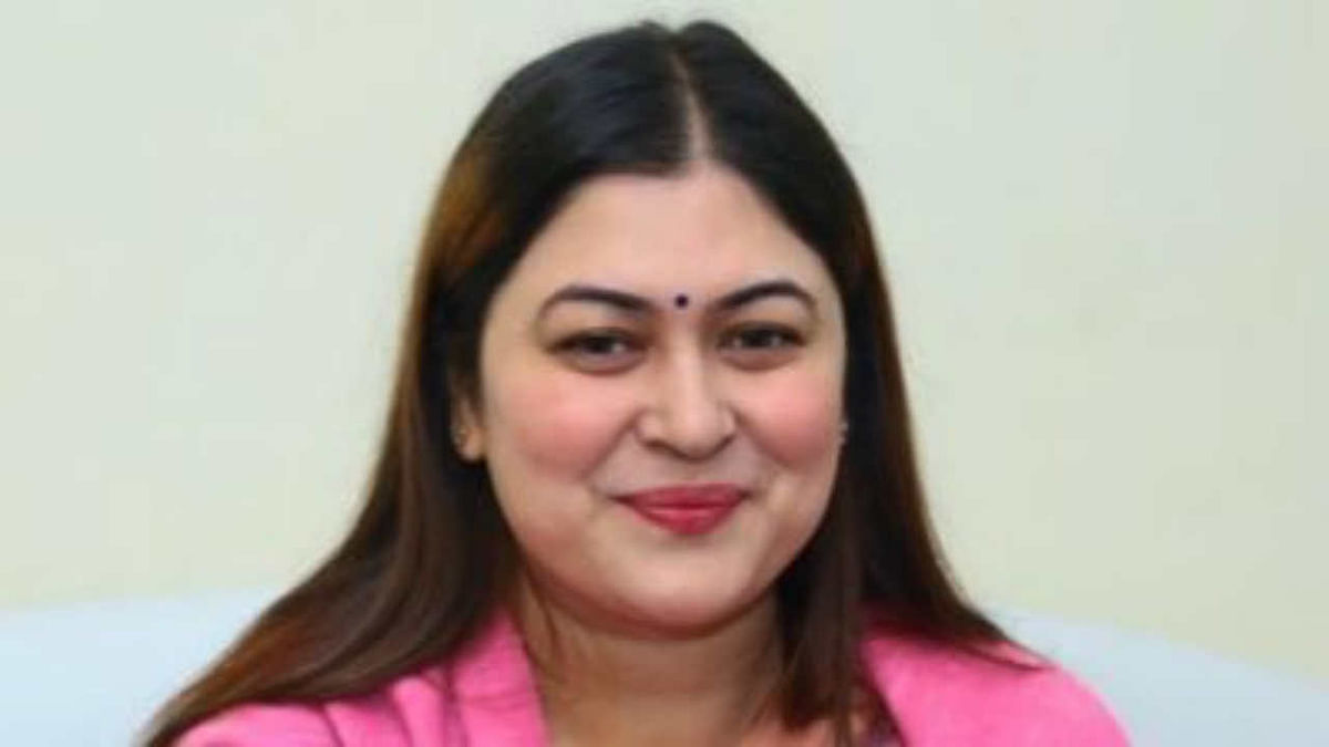 Congress leader Ragini Nayak