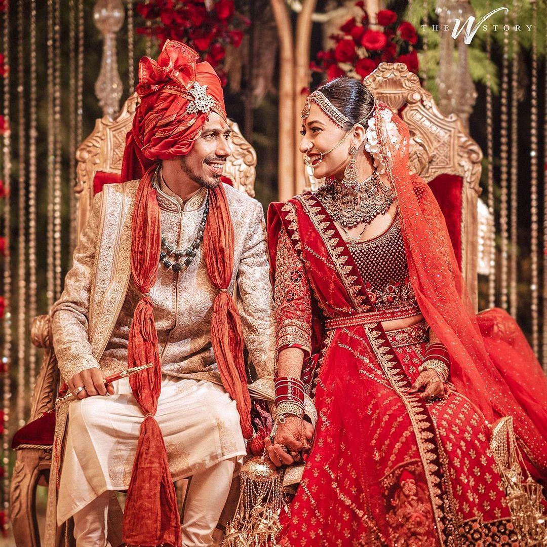 #DhanaSaidYuz: Yuzvendra Chahal ties the knot with choreographer Dhanashree Verma; see pics