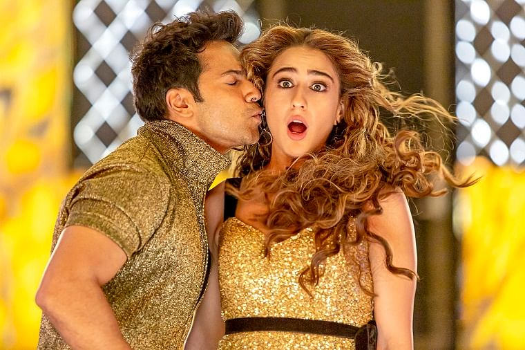 Varun Dhawan and Sara Ali Khan in the new version of the song