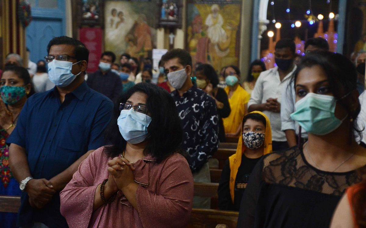 Xmas in Mumbai: Christmas celebrations at home; few churches cancel mass