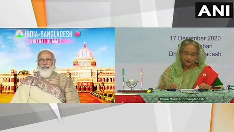 PM Modi, Sheikh Hasina jointly inaugurate Chilahati-Haldibari rail link between India, Bangladesh