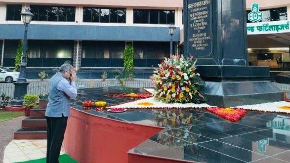 Rashtriya Chemicals and Fertilizers  pays tribute to Bharat Ratna Dr. Babasaheb Ambedkar on 64th Mahaparinirvan Diwas