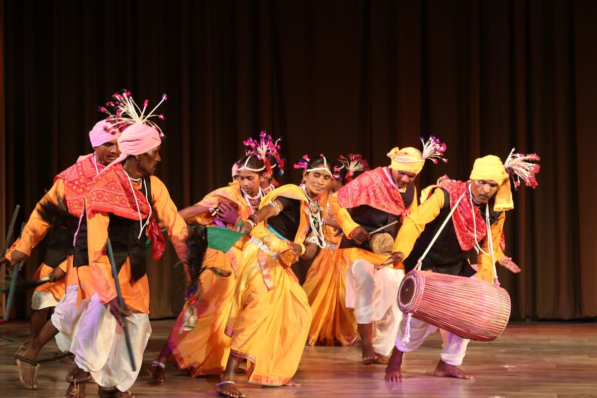 Bhopal: 'Gamak-4' fest begins with Bundeli Kanda songs and Gond tribal dance 'Saila'