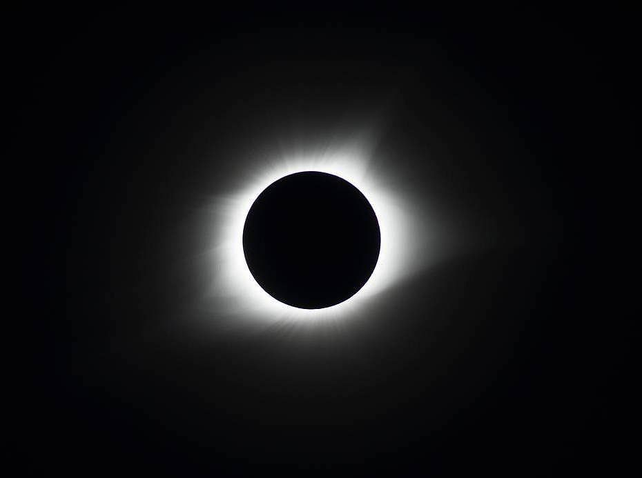 A total solar eclipse passes over Chile and Argentina on Dec. 14 — meaning that the Moon is lined up just right between the Sun and Earth, casting its shadow on Earth's surface.