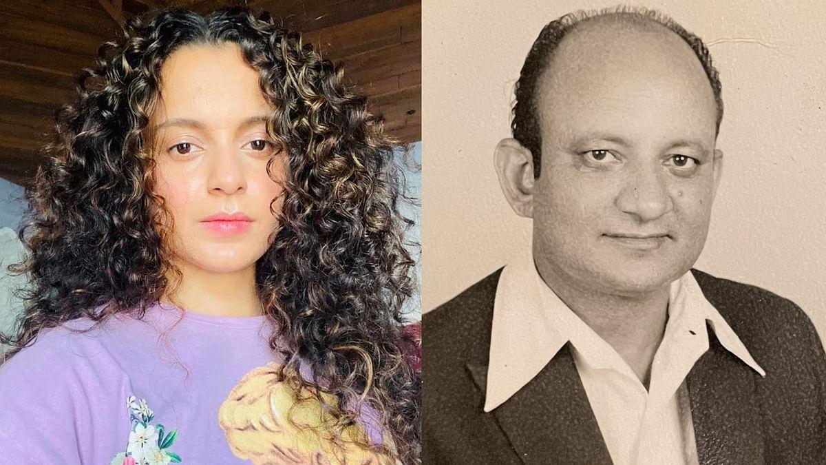 Kangana Ranaut's grandfather dies at 90; actress pens emotional note