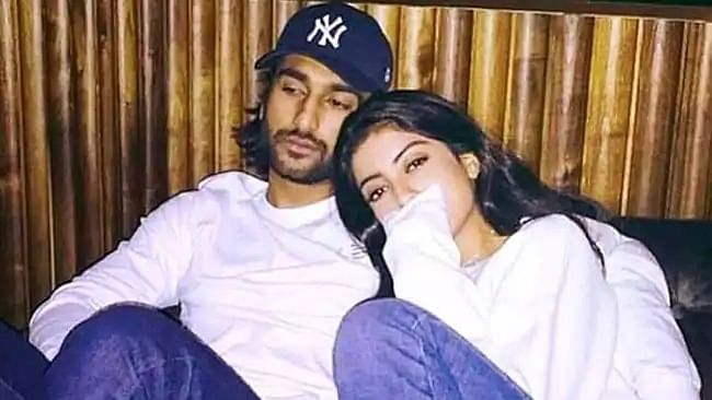 Rumoured boyfriend Meezaan Jaaferi is all hearts for Navya Nanda's latest Instagram post