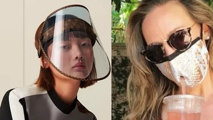 Gold masks, Rs 73K face shields, and more: Bizarre COVID-19 fashion trends the world witnessed in 2020