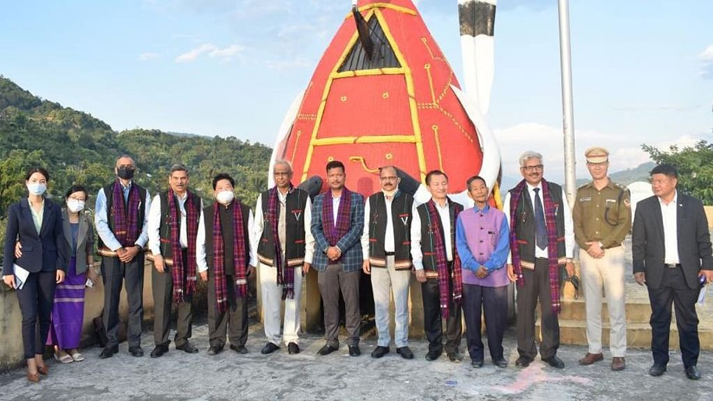 Sanjiv Nandan Sahai, Secretary Power, visits Changlang, Arunachal Pradesh