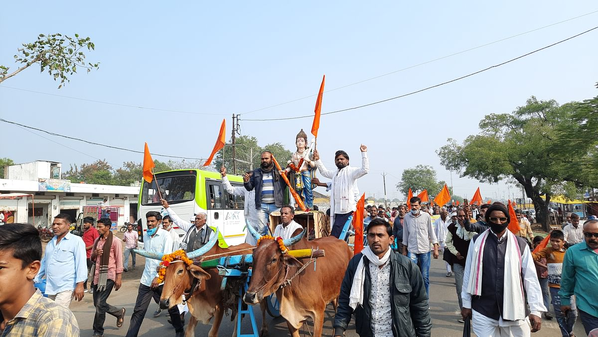 Farmers' protest in Khadwa