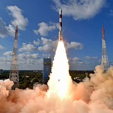 PM Modi, Bhagwad Gita ride piggyback into space as ISRO's PSLV-C51 rocket launches Brazilian satellite Amazonia-1