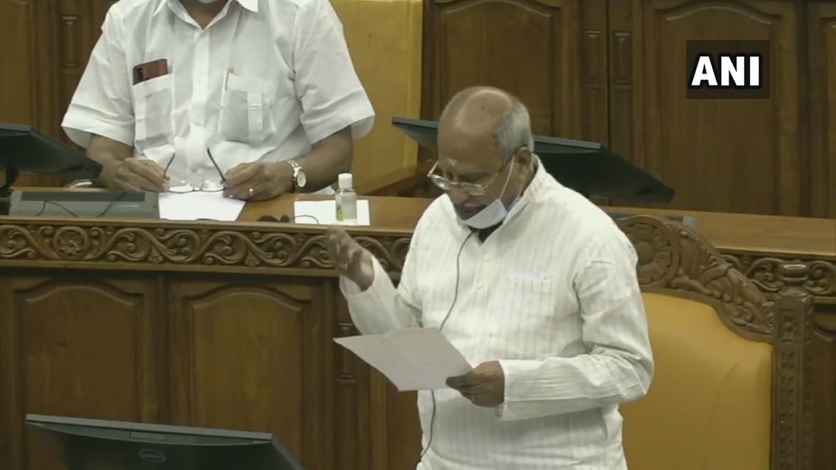 Lone BJP MLA in Kerala backs Assembly resolution against new farm laws