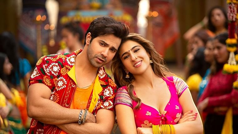 Sara and Varun Dhawan sizzle in the latest track Mummy Kassam from Coolie No. 1
