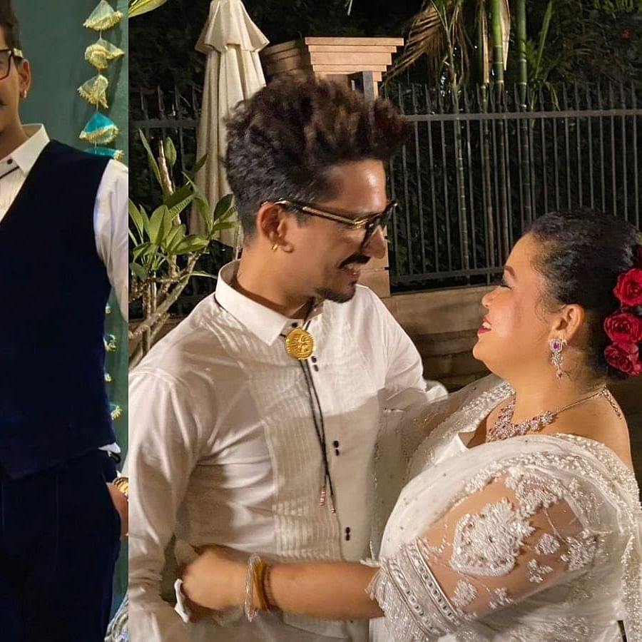Watch: Amid fresh notice in drug case, constant trolling, Bharti Singh attends Aditya Narayan's wedding reception