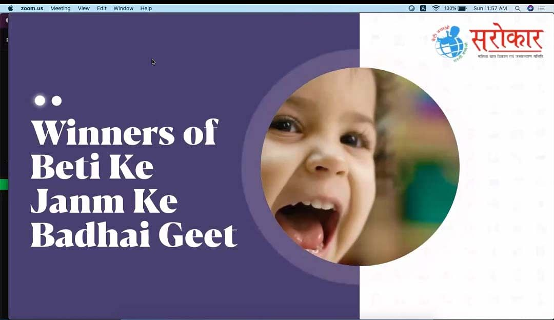 Bhopal: In a contest, NGO receives hundreds of 'badhai geet' welcoming girl child