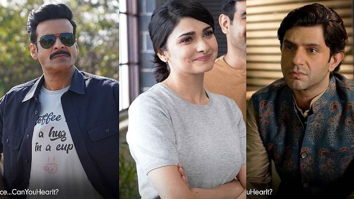 Manoj Bajpayee, Arjun Mathur and Prachi Desai to feature in ZEE5 original film 'Silence... Can You Hear It?'