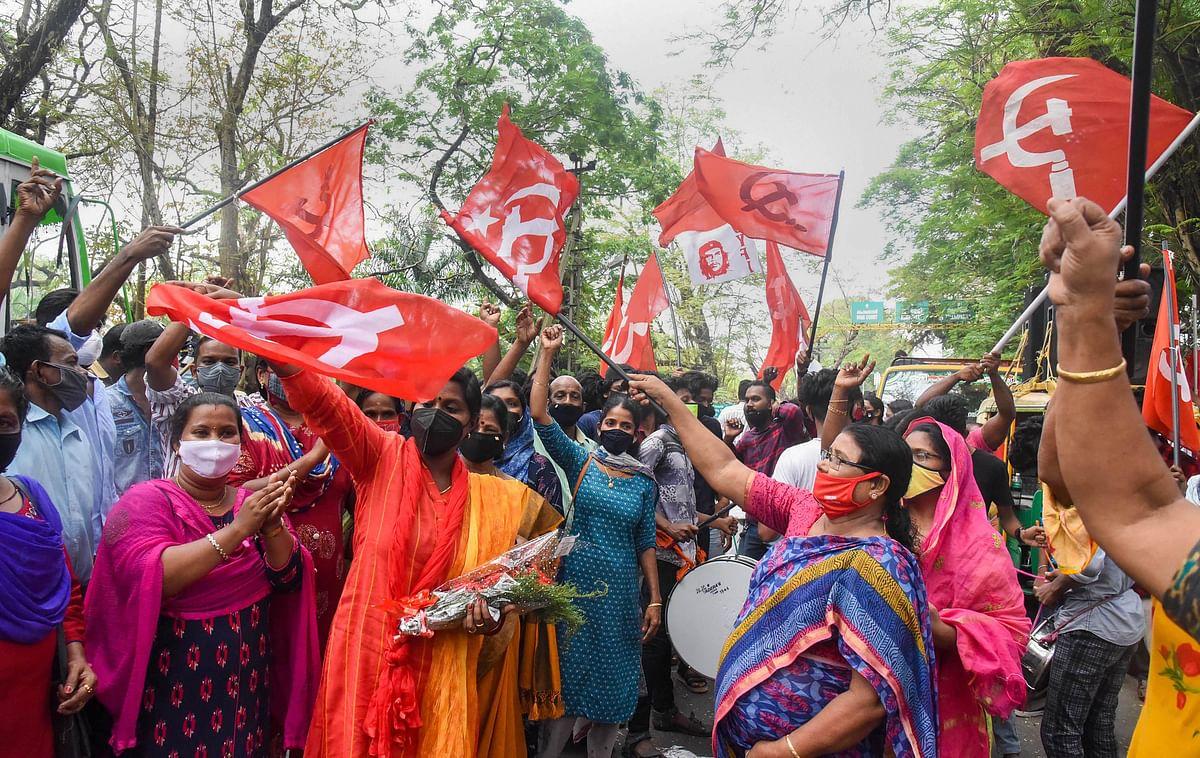 Kerala: LDF leading in 516 gram panchayats, NDA in 22