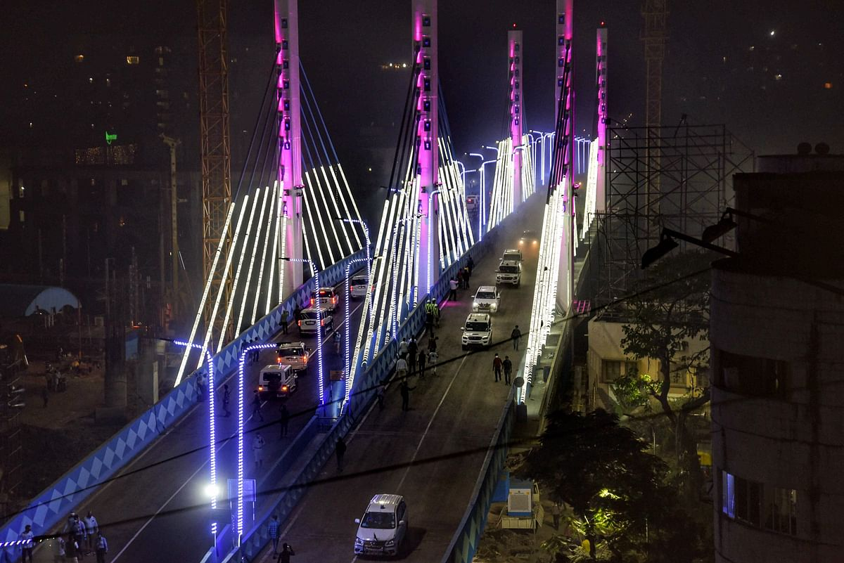 West Bengal: New Majerhat bridge reopens two years after its collapse