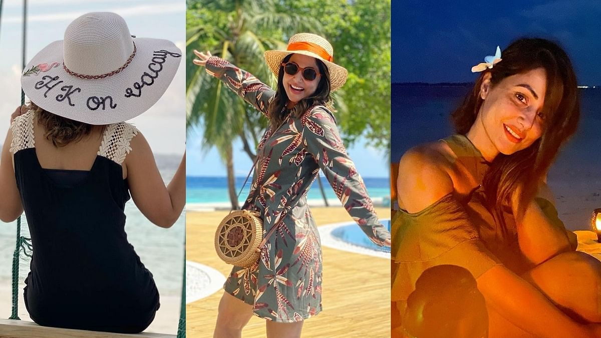 HK on Vacay: Hina Khan floods Instagram with her exotic pictures from the Maldives