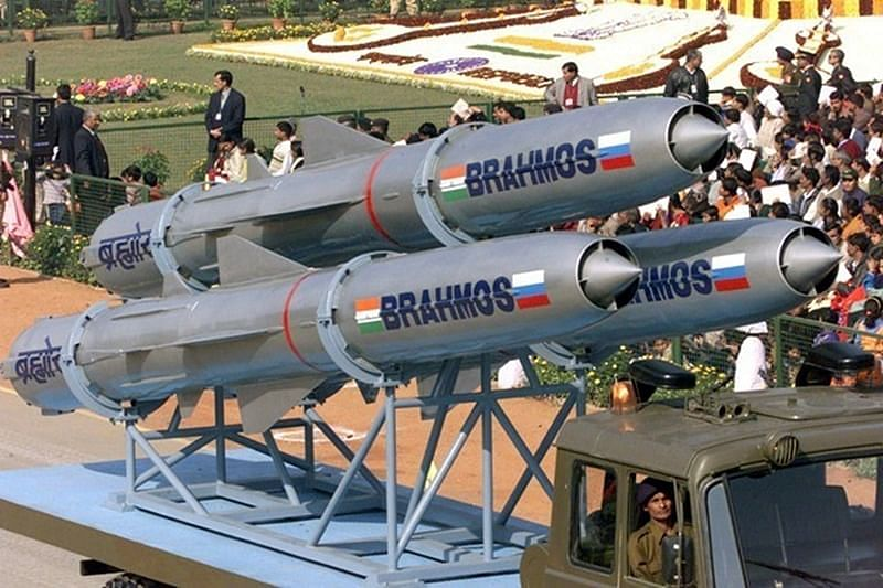 Another BrahMos supersonic cruise missile test conducted as part of trials for Indian Navy