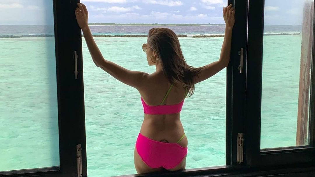 Nushrratt Bharuccha looks electrifying in hot pink bikini in appreciation post