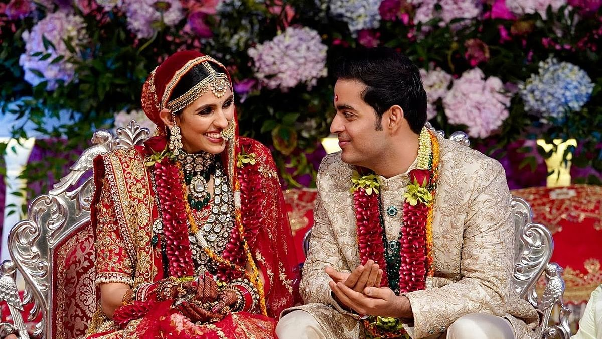 Shloka and Akash Ambani welcome baby boy: Check out throwback pictures of their big fat Indian wedding